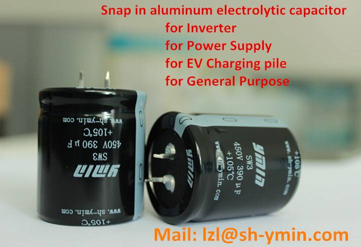 ESW3 YMIN Horn Type Snap-in Aluminum Electrolytic Capacitor 47000uf for Low Voltage Inverter