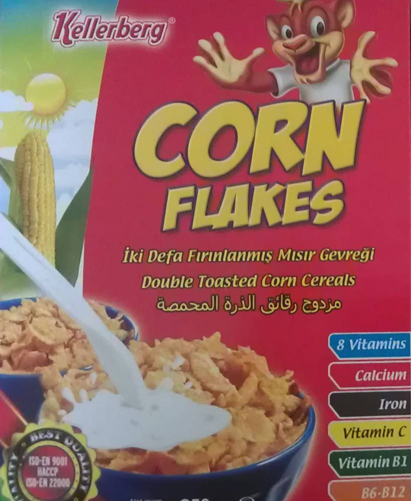 So Delicious Cereal Food Crispy Steak Corn Flakes