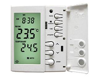 Deluxe multistage AC thermostat 7-day programmable