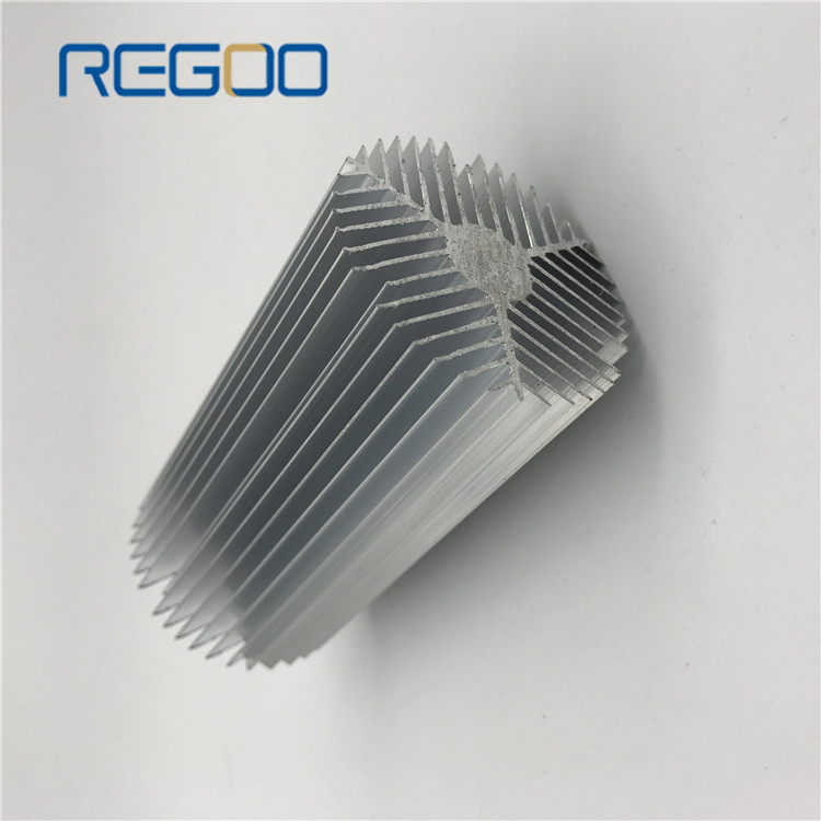 Customized Aluminum Extruded Profile Heat Sink