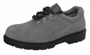 Men Gray Steel Toe Safety Shoes