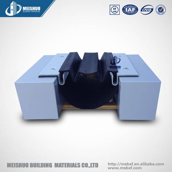 Surface mounted aluminum wall expansion joint system