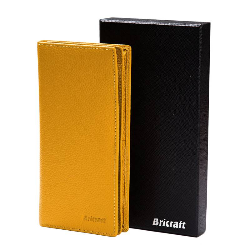 Soft Leather RFID SAFE Blocking Bifold Wallet for Women