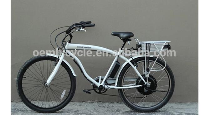 beach cruiser e bike/ electric bike