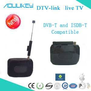 Mobile DTV Link with Android/IOS  for DVB-T  and  ISDB-T  digital TV L301