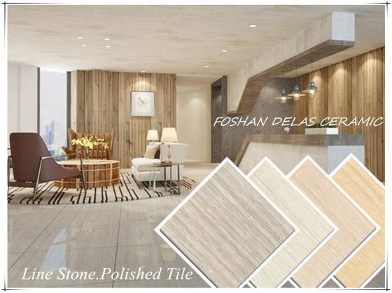 60x60 80x80 100x100 60x120 Line Stone Nano Double Loading Polished Vitrified Tile