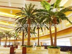 high quality outdoor all kinds big artificial palm tree cheap fake fiberglass palm tree square tree