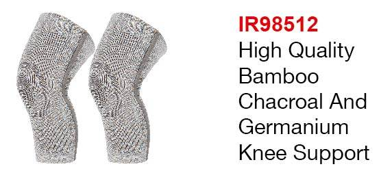 High Quality Bamboo Charcoal And Germanium Knee Support