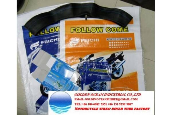 Feichi Follow come motorcycle inner tube butyl rubber, natural rubber tube
