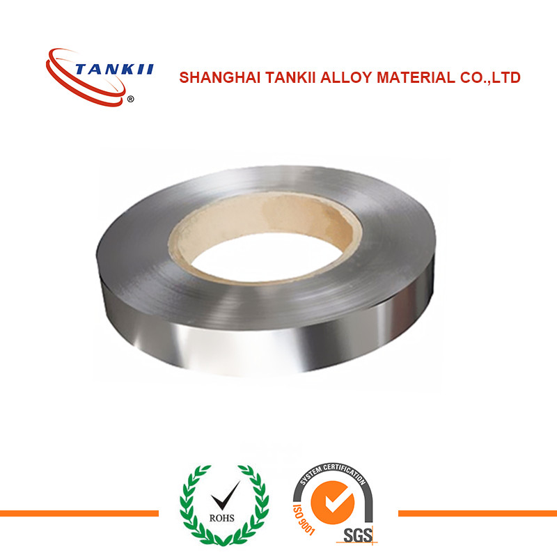 Copper nickel alloy CuNi44 constantan heating tape / strip / foil