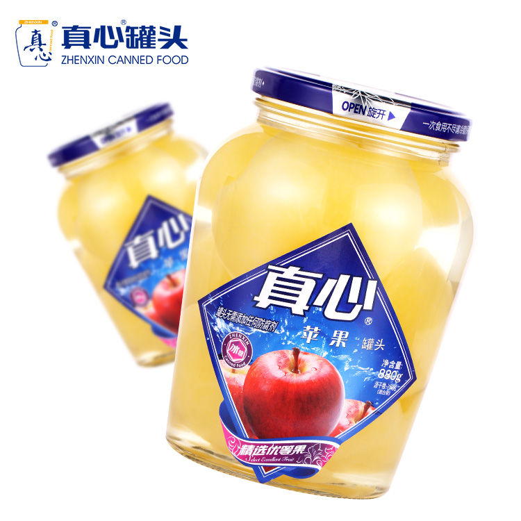 Canned Apple in Syrup