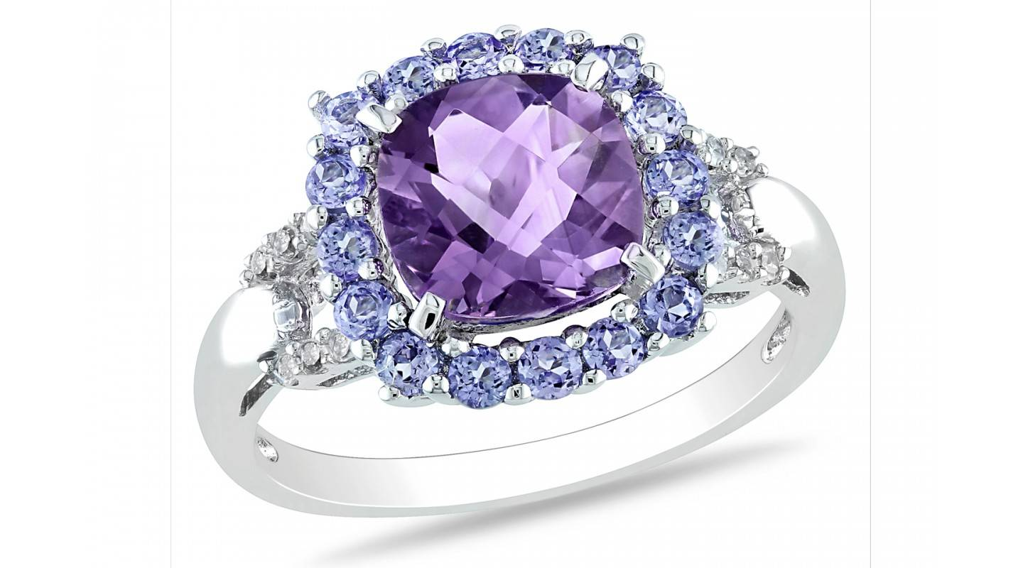 Amethyst ring 925 sterling silver ring jewelry