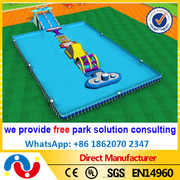popular industrial discount steel frame swimming Pool for water park