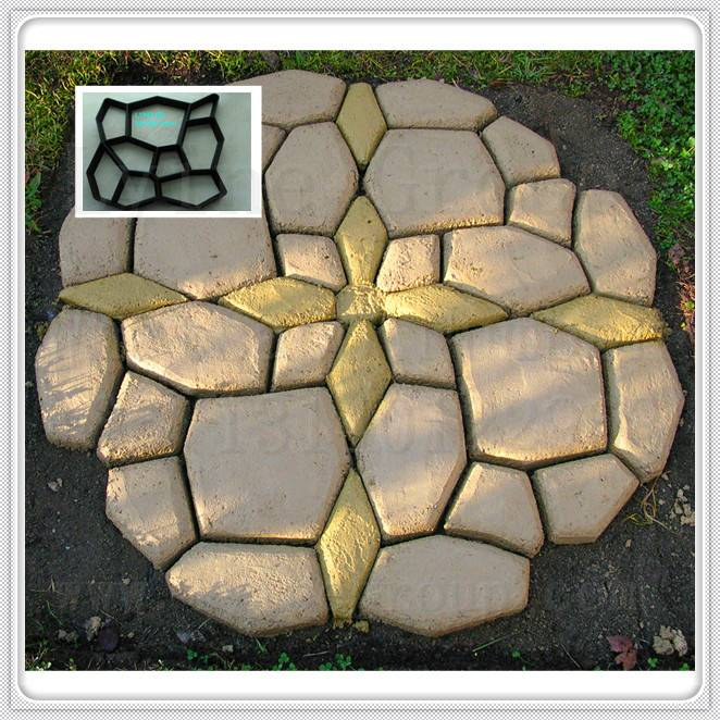 Super Quality high precision Plastic Injection garden diy mould block pavement