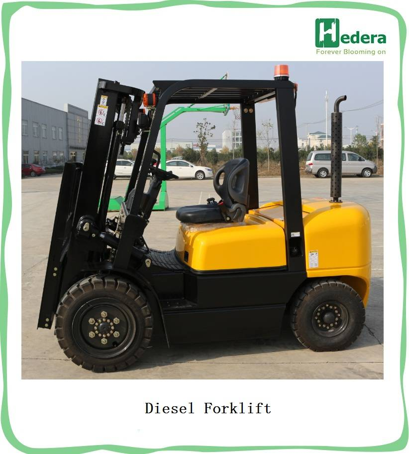Small Hydraulic Manual Forklift