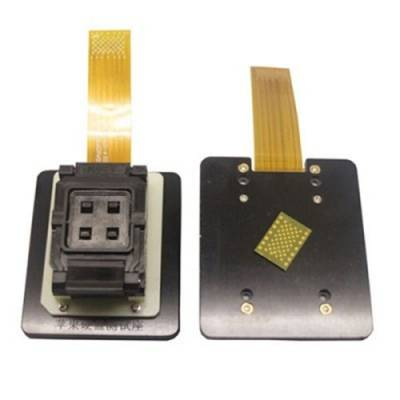 For iPad iPhone4 iNAND LGA52 LGA60 NAND Test Socket HDD SN Change Tool