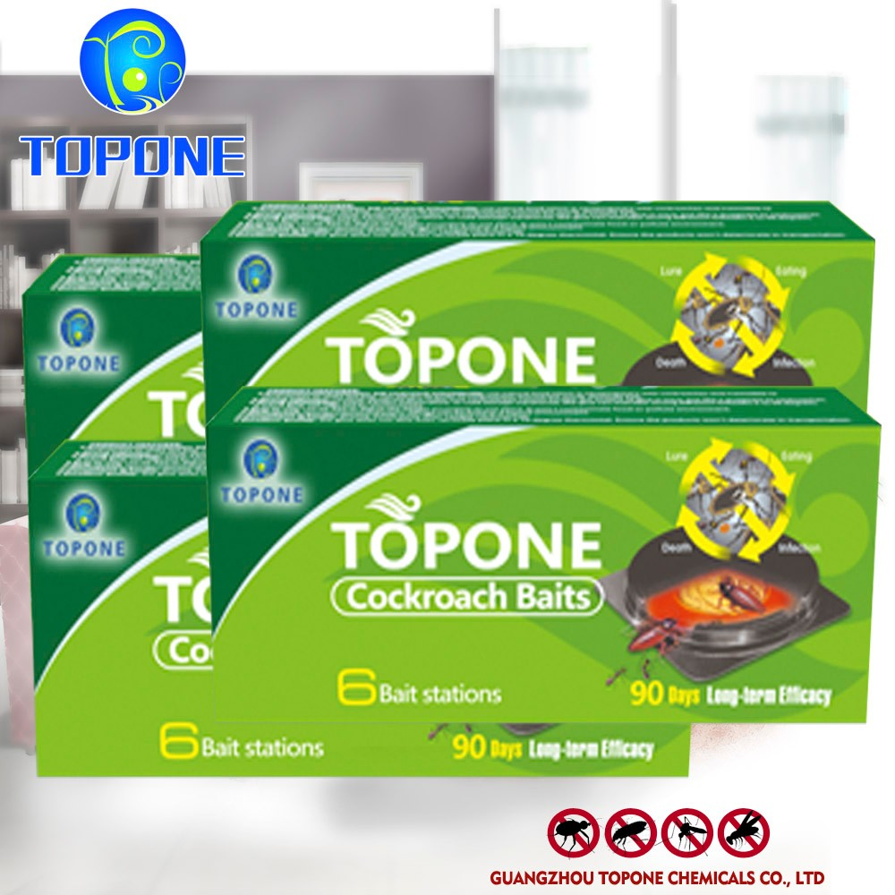 TOPONE Anti Cockroach Trap , Cockroach Bait , Station Cockroach Killing Bait Products