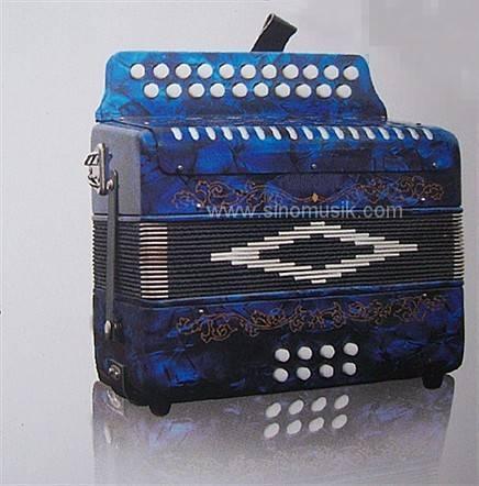 21 Button 8 Bass Button Accordion