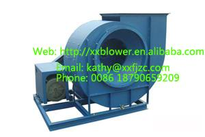 Cast Iron Large Capacity Smoke Exhaust Fan For Industrial Boiler