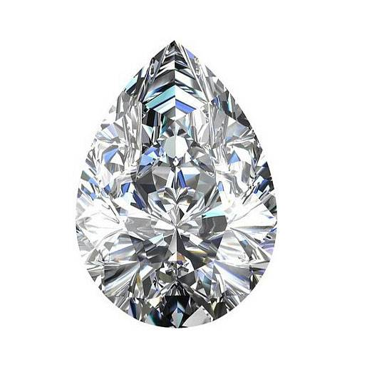 7*9mm Wholesale Gem Stone Cubic Zirconia CZ Jewelry Factory Price of Hot Sale DIY Pear White Cut