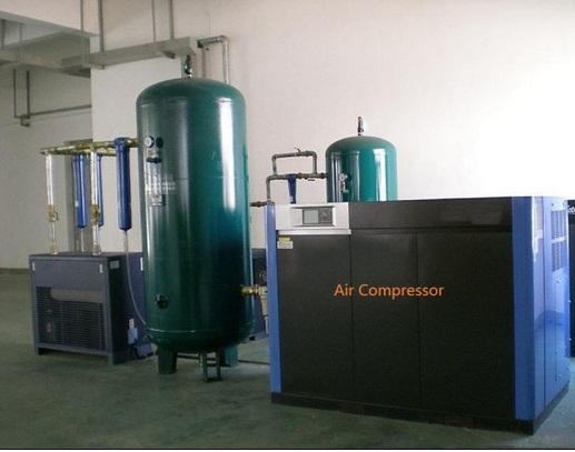Air Compressor And Air Tank