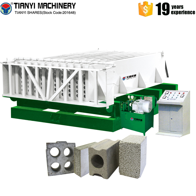 full automatic lightweight concrete wal panel forming machine from china