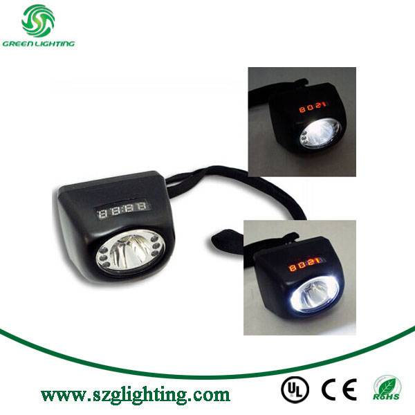 LED lithium battery miners cordless lamp 3W Cree LED Headlamp Light
