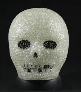 EVA&LED Halloween decorative lights,Skull Table 2 Lamp
