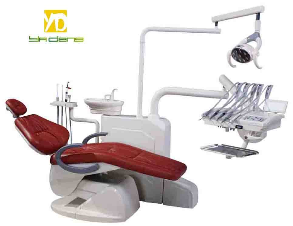 Foshan YADENG Approval Real Leather Dental ChairPrice YD - A4e