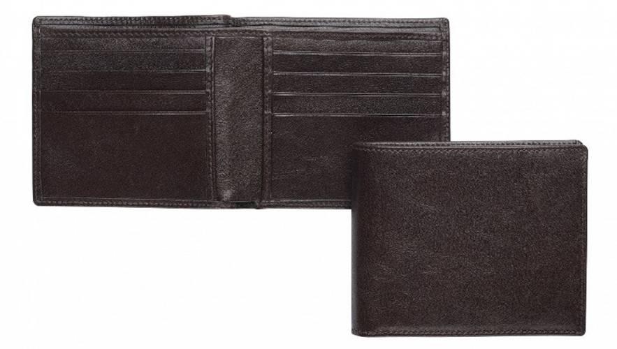 Custom Designer Black Man Leather Wallet for Business