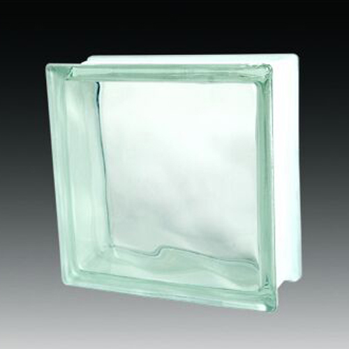 Cloudy wall glass block cheap price for building and decoration