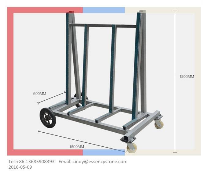 Slab Cart, Slab Rack, Slab Dolly, Stone Transfer Cart