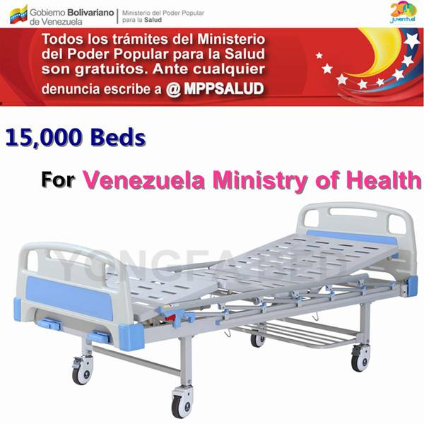 Two Function Manual Hopsital Bed