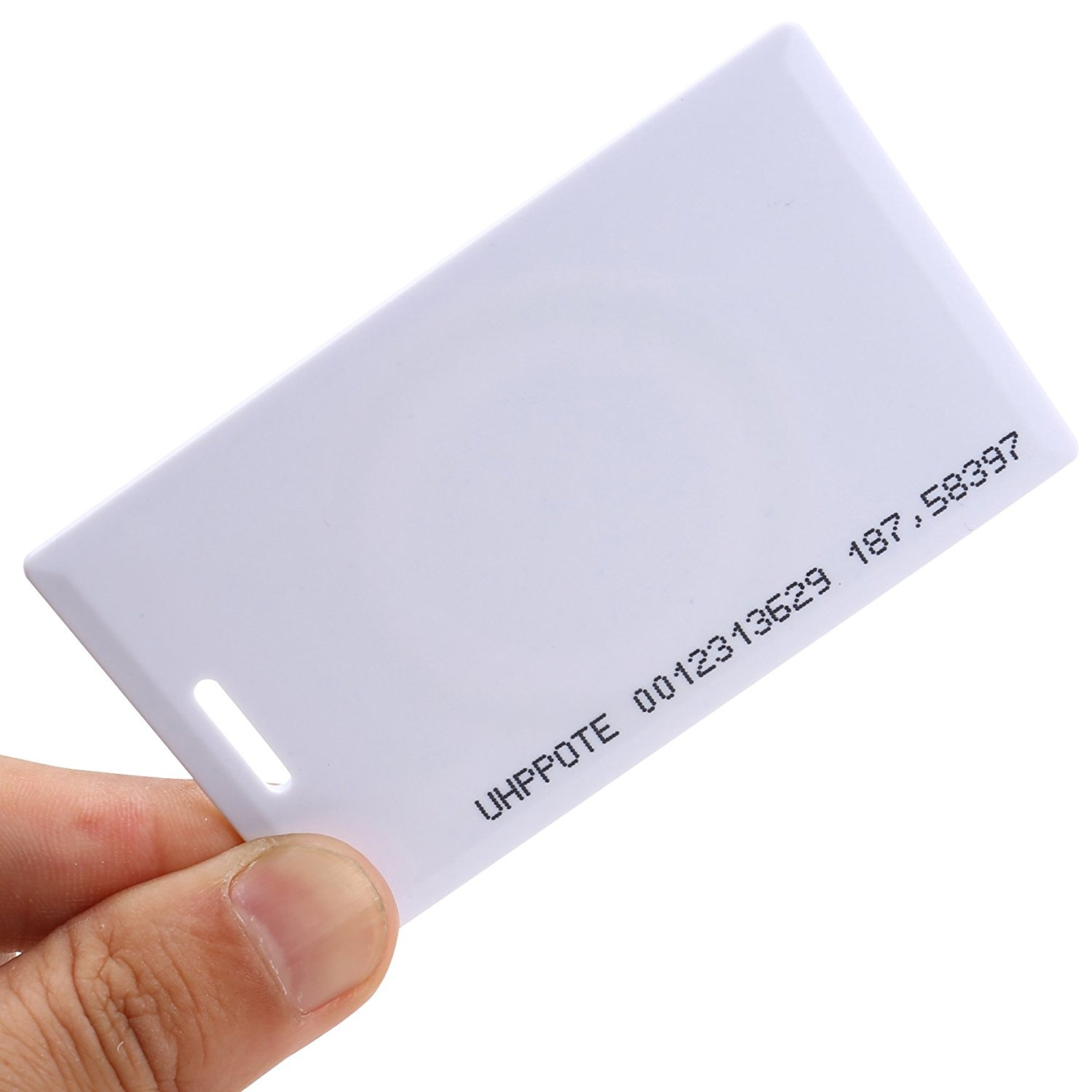125Khz T5577 RFID Proximity 1.8mm thick card/clamshell for door access control