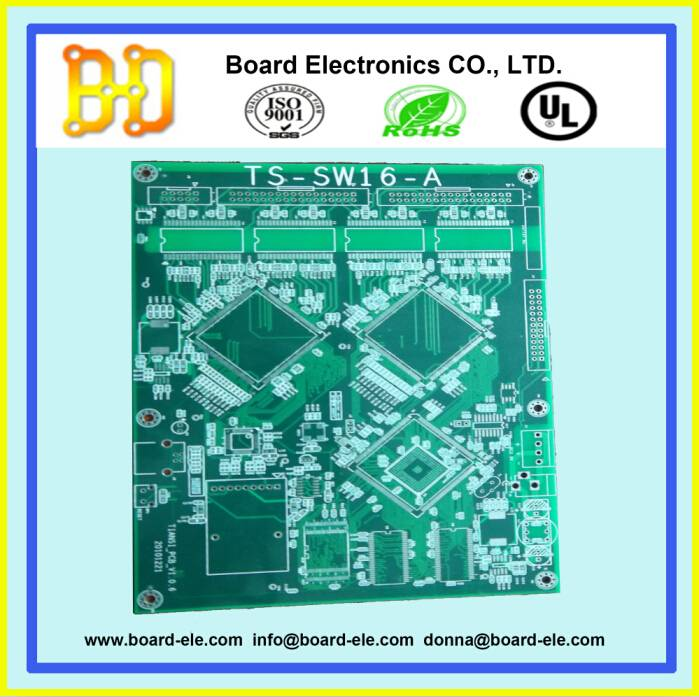 6 layers pcb with hasl lead free surface