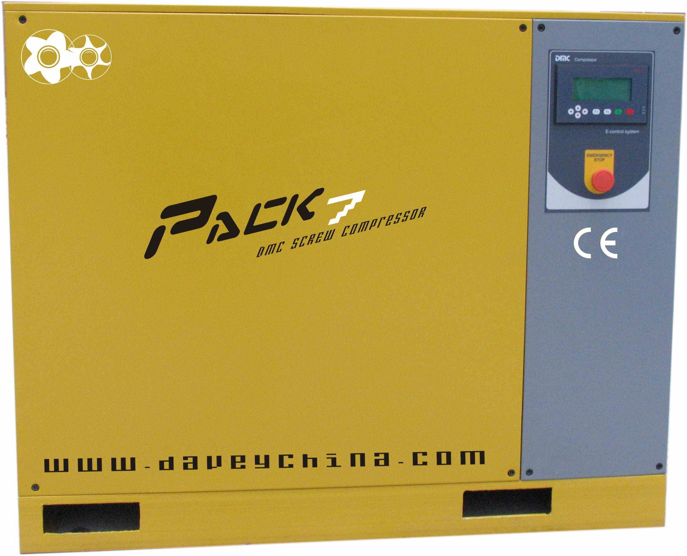 VSD 10hp screw compressor with build-in dryer(variable speed driven )