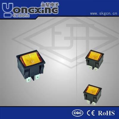 KCD5-22N indicator rocker switch