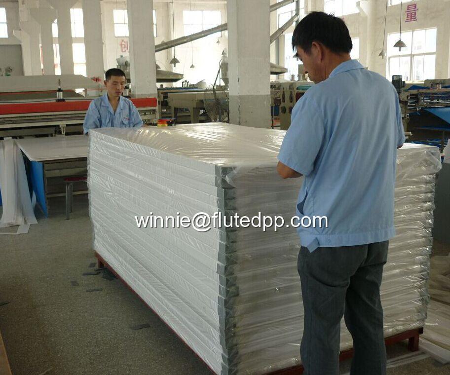Hollow sheet, Coreflute, Coroplast, Polyflute, Coroplast
