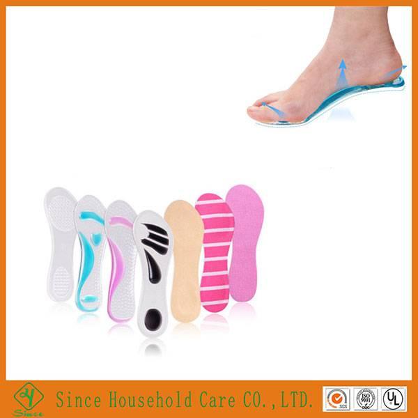 3/4 PU Gel high heel insoles