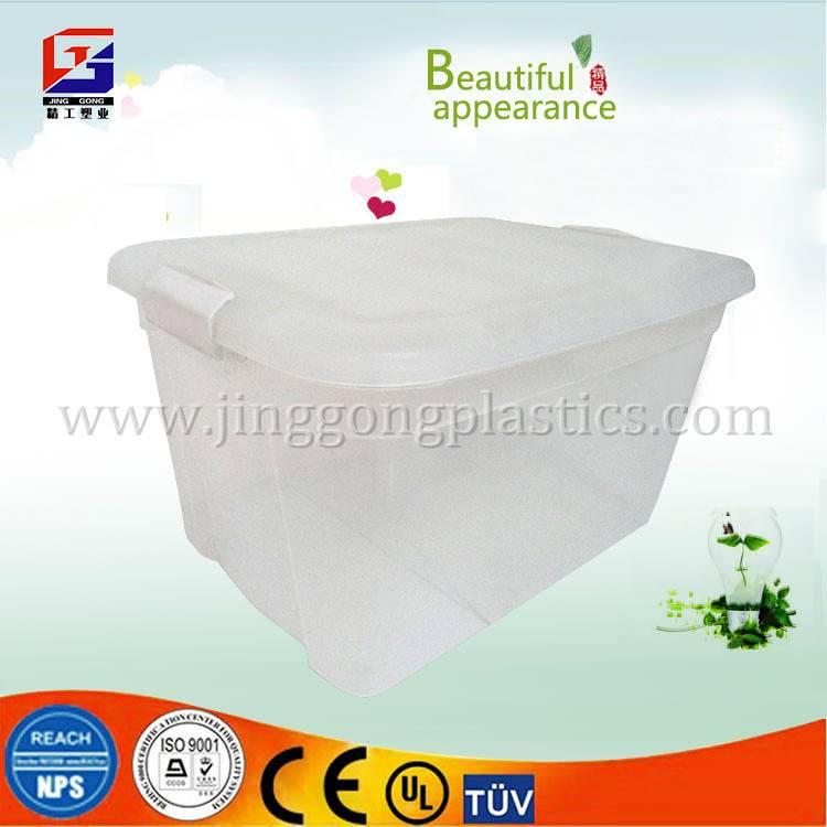 31L Plastic rolling storage box, storage container,storage bin