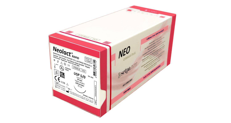 NEOLACT Rapid Polyglactin 910 (Rapid PGLA) Suture