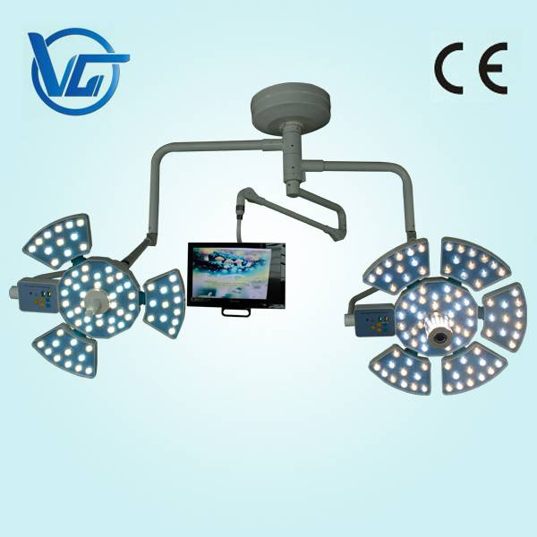 CE marked LED surgical shadowless light with camera