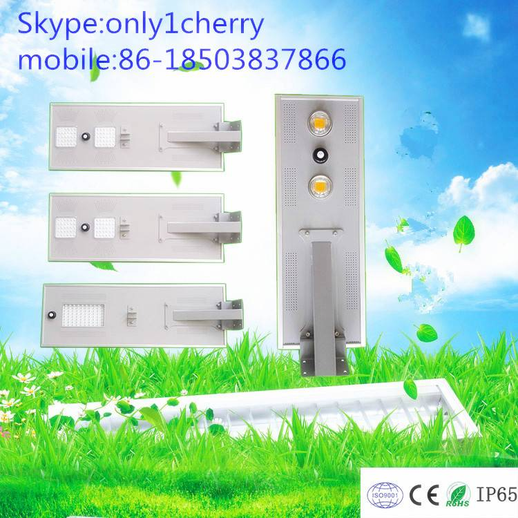 Good Quality IP65 Outdoor All in One Integrated Solar Power LED Pole Street Light