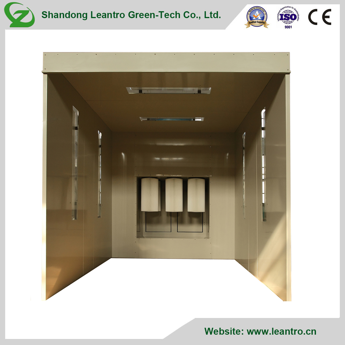 Reputable Practical Easy to Operate Powder Spray Booth for Furniture