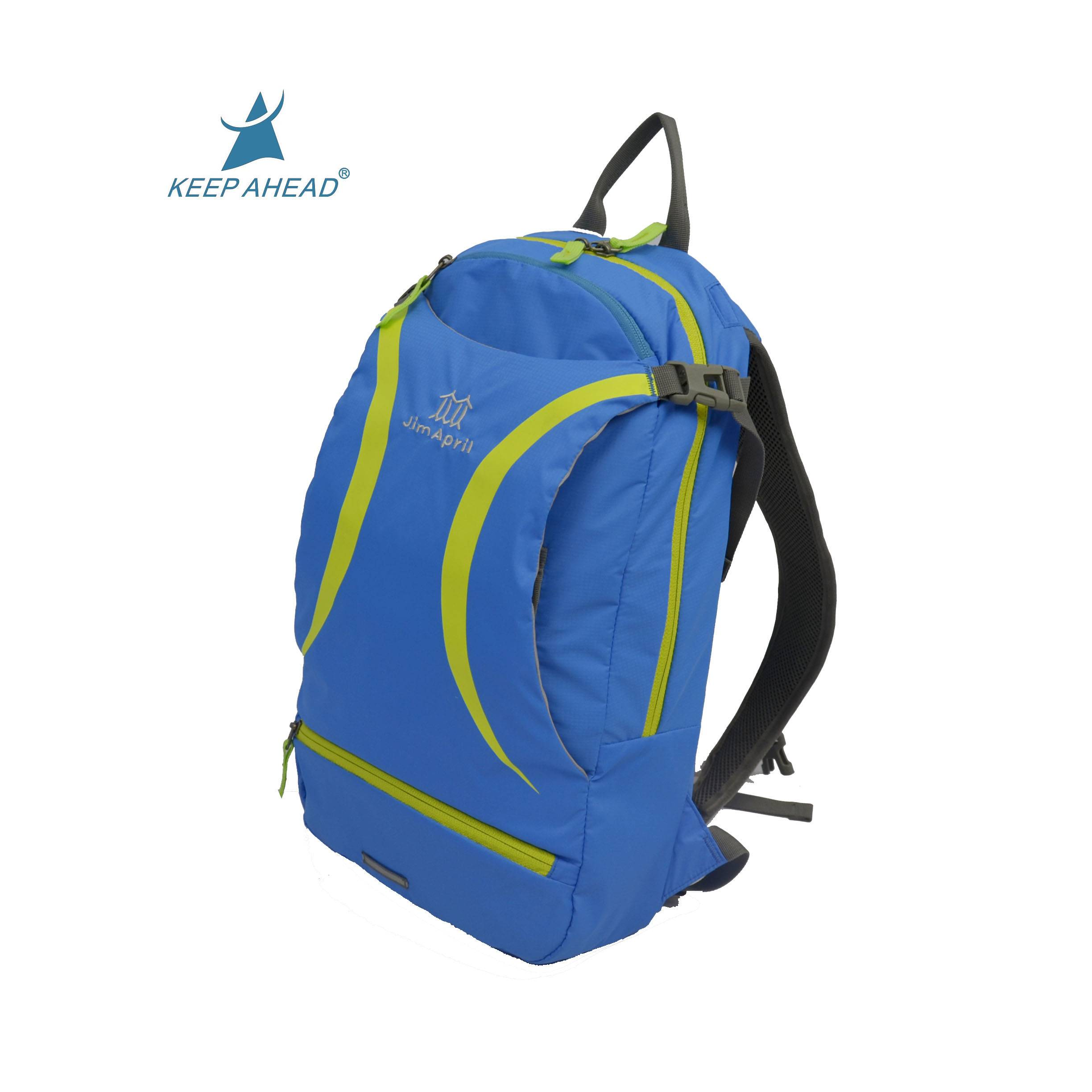 High quality casual travel backpack comfortable soft sport backpack day pack