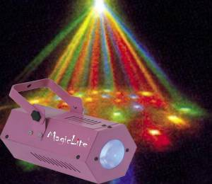 4 color Small Hexagonal LED Star Lamp light (MagicLite) M-A008