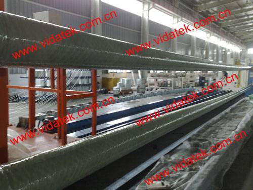 FRP carbonfiber lighting pole filament winding machine