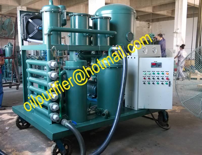 Hydraulic Oil Cleaning System, Vacuum Oil Purification Plant, Hydraulic Oil Restoration Unit