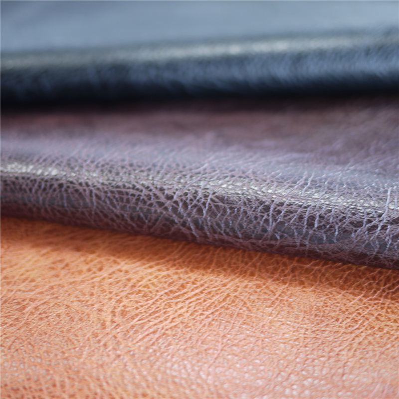 Litchi Pattern PU Synthetic Leather for Cloth Shoe Bag Garment