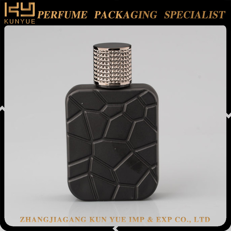 Custom Rectangle Glass Perfume Bottle,100ml Perfume Glass Bottle Wholesale